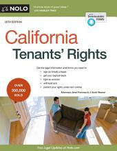 California Tenants' Rights: Edition 20
