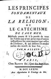 Les principes fondamentaux de la religion, ou Catéchisme de l'âge mûr