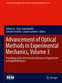 Advancement of Optical Methods in Experimental Mechanics  Volume 3 PDF