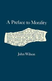 Preface to Morality