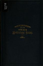 Transactions of the Indiana Horticultural Society: Volume 20
