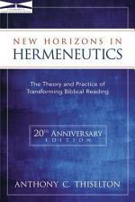 New Horizons in Hermeneutics