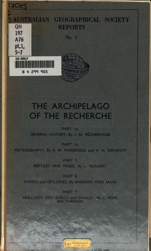 The Archipelago of the Recherche