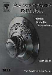 Java Cryptography Extensions Book PDF