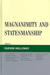 Magnanimity and Statesmanship