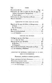 Mémoires métallurgiques sur le traitement des minérais de fer: d'étain et de plomb en Angleterre, faisant suite au voyage métallurgique de Mm. Dufrénoy et Élie de Beaumont