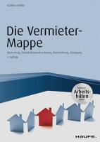 Die Vermieter Mappe   inkl  Arbeitshilfen online PDF