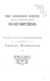 Thomas Middleton: Volume 2