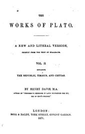The Works of Plato: Volume 2