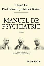 Manuel de psychiatrie: Édition 6