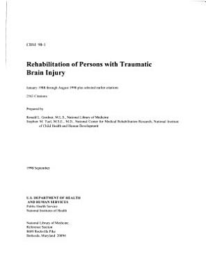 Rehabilitation of Persons with Traumatic Brain Injury PDF
