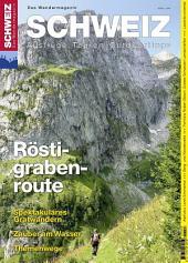 Röstigraben: Wandermagazin SCHWEIZ 6_2012