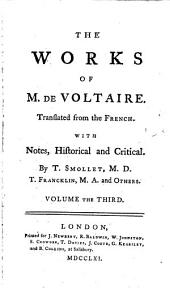 The Works of M. de Voltaire: The ancient and modern history