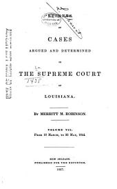 Louisiana Reports: Cases Argued and Determined in the Supreme Court of Louisiana, Volume 46