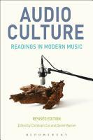 Audio Culture  Revised Edition PDF