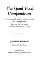 The Good Food Compendium PDF