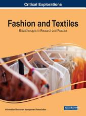 Fashion and Textiles  Breakthroughs in Research and Practice PDF