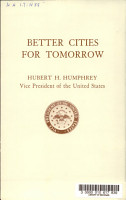 Better Cities for Tomorrow PDF
