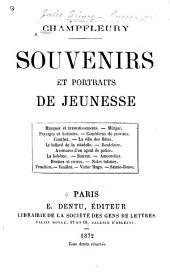 Souvenirs et portraits de jeunesse