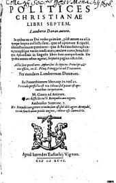 Politices Christianae: Libri VII