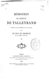 Mémoires du prince de Talleyrand: Volume2