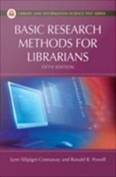 Basic Research Methods for Librarians, Fifth Edition