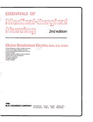 Essentials of Medical surgical Nursing PDF