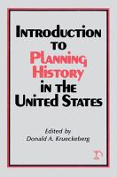 Introduction to Planning History in the United States PDF