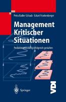Management Kritischer Situationen PDF