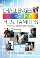 Challenges of Aging on U S  Families PDF