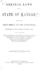 The Statutes of the Territory of Kansas, Passed at the ... Session of the General Legislative Assembly ...