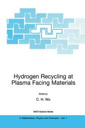 Hydrogen Recycling at Plasma Facing Materials