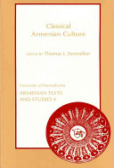 Classical Armenian Culture