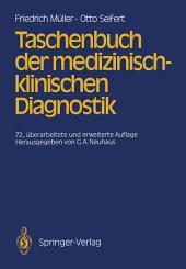 Taschenbuch der medizinisch-klinischen Diagnostik: Ausgabe 72