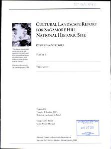 Cultural Landscape Report for Sagamore Hill National Historic Site  Volume II  Treatment  2010 PDF