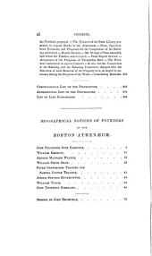 The history of the Boston Athenæum, with biogr. notices of its deceased founders