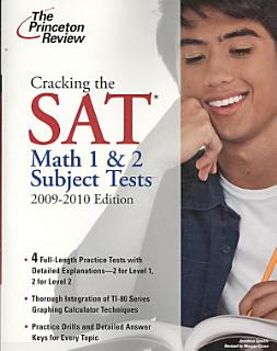 Cracking the SAT Math 1   2 Subject Tests Book