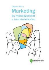 Marketing és menedzsment a közművelődésben