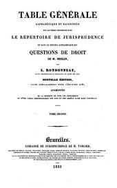 Recueil alphabétique de questions de droit: Volume2;Volume18