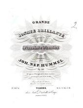 Grande sonate brillante pour le pianoforte à 4 mains: op. 106