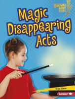 Magic Disappearing Acts PDF