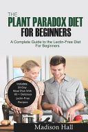 The Plant Paradox Diet for Beginners Book