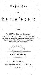 Geschichte der philosophie: Band 3