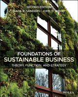 Foundations of Sustainable Business PDF