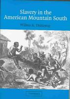 Slavery in the American Mountain South PDF