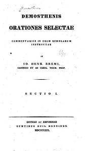 Demosthenis orationes selectae: Volume 1