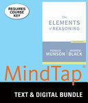 The Elements of Reasoning  7th   Mindtap Philosophy 1 Term 6 Month Printed Access Card