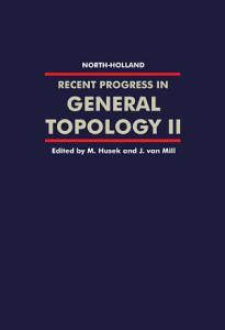 Recent Progress in General Topology II