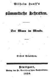 Wilhelm Hauff's sämmtliche Schriften: Bände 31-36