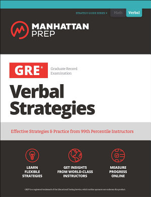 GRE Verbal Strategies PDF